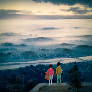 Shizuku and Seiji - Whisper of the Heart Scenery