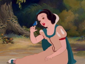 Snow White Pocahontas colors