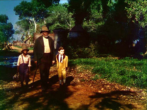 Song of the South (1946) Still - Toby, Uncle Remus and Johnny