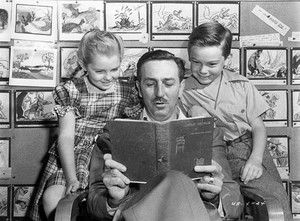 Song of the South - Behind the Scenes - Luana Patten, Walt Disney and Bobby Driscoll