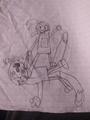 Sonic Twinsanity - drawing photo