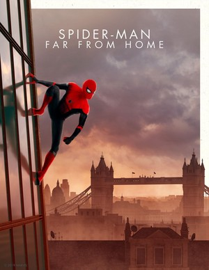 Spider-Man: Far From 首页 -Marvel Cinematic Universe Collector's Edition Box Set Posters