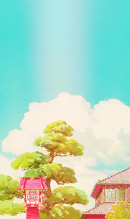 Spirited Away Scenery Phone Wallpapers