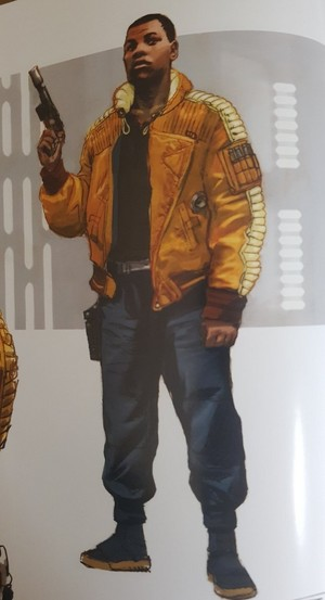 stella, star Wars: The Rise of Skywalker -art book/concept art