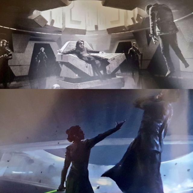 ster Wars: The Rise of Skywalker -art book/concept art