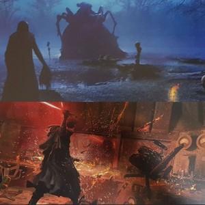 estrela Wars: The Rise of Skywalker -art book/concept art