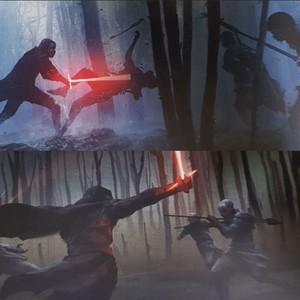 звезда Wars: The Rise of Skywalker -art book/concept art