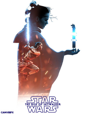 estrela Wars: The Rise of Skywalker - movie poster