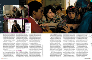 Stranger Things in Empire Magazine - November 2017 [Part 3]