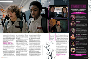 Stranger Things in Empire Magazine - November 2017 [Part 4]