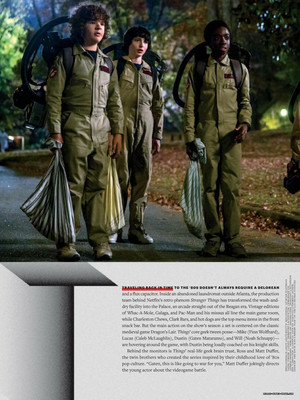 Stranger Things in Entertainment Weekly - February 2017 [Part 2]