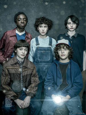 Stranger Things in Entertainment Weekly - October 2017