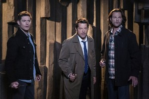 Supernatural Episode 15.08 - Our Father Who Aren't In Heaven - Promo Pics