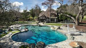 Swimming Pool At Neverland Ranch