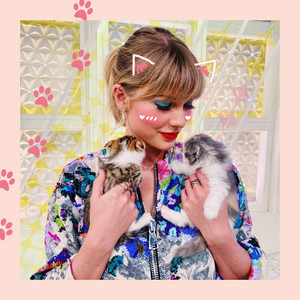 TAYLOR SWIFT SAMA AND TWO KITTENS NEKO