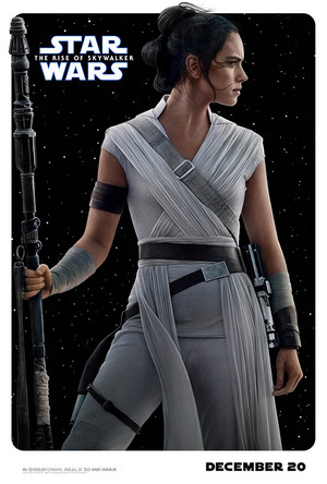TROS character posters (Rey)