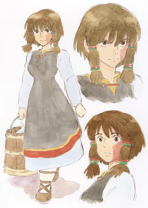 Tales from Earthsea Concept Art