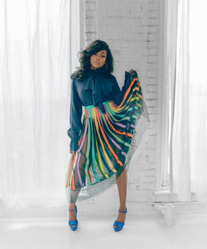 Taraji P. Henson - Boston Common Photoshoot - 2019