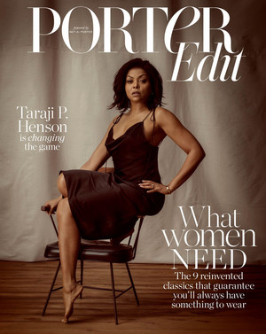 Taraji P. Henson - Porter Edit Cover - 2019