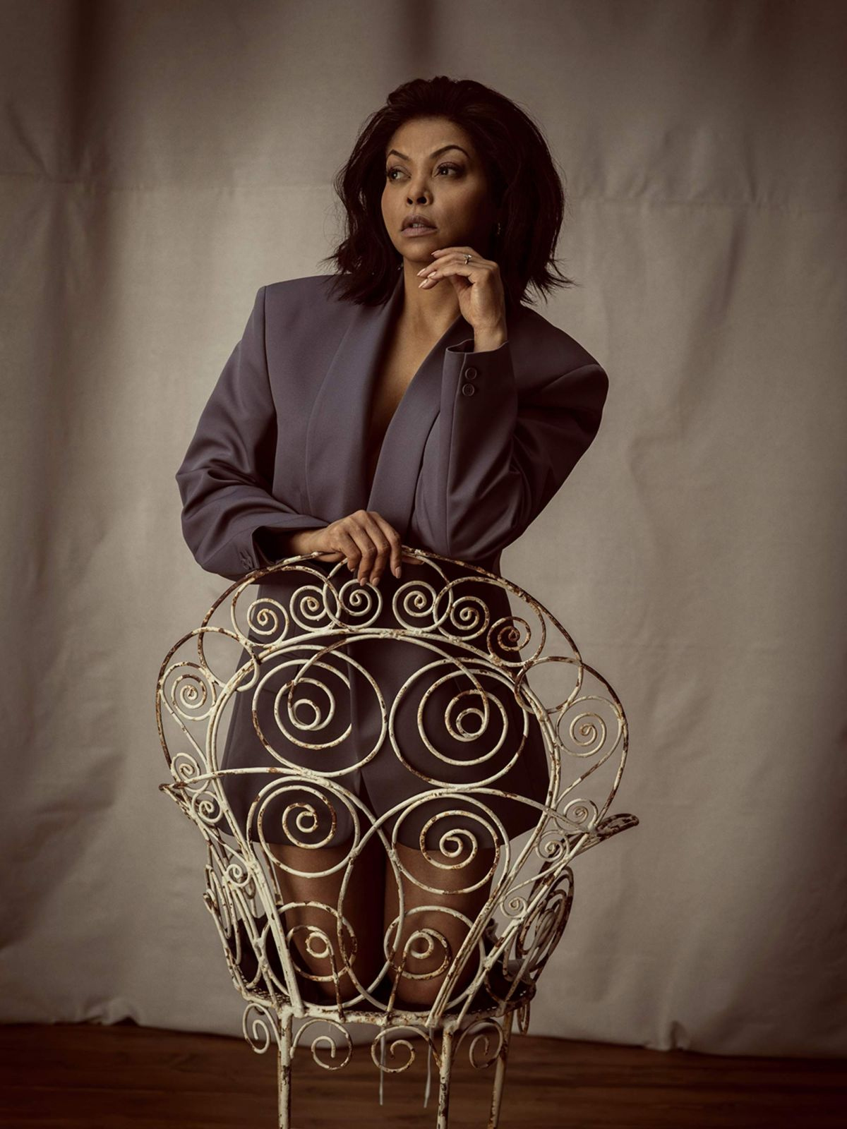 Taraji P. Henson - Porter Edit Photoshoot - 2019
