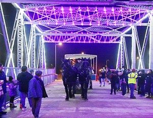 The Duck Creek Bridgeway and 2019 Lighting of the Trees — Oneida Community Library-Wisconsin