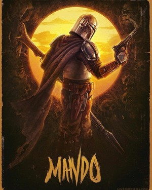 The Mandalorian  -Created by cinemafannotes