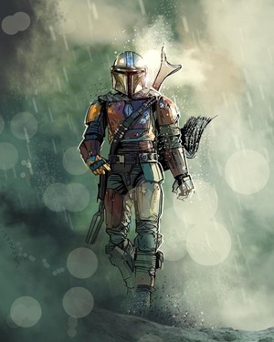 The Mandalorian | by venamis
