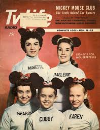 The Mickey souris Club On The Cover Of TV Life