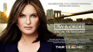 The Paley Center Salutes Law & Order: SVU - Poster