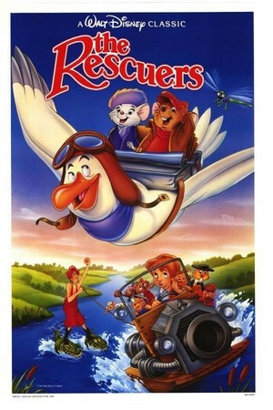 The Rescuers (1977) Poster