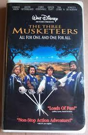 The Three Musketeers On वीडियो कैसेट