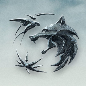 The Witcher - Series Logo - Clouds
