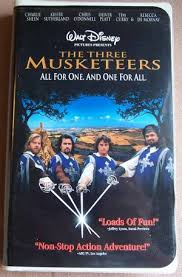 Three Musketeers On kaset video, videocassette