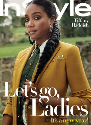 Tiffany Haddish - InStyle Cover - 2020
