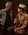 Tom Hiddleston and Rodney Crowell behind the scenes of I Saw The Light (2015)  - tom-hiddleston photo