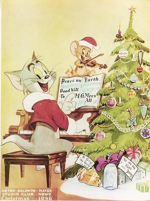 Tom and Jerry Рождество