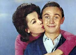Tommy Kirk And Annetten Funnicello