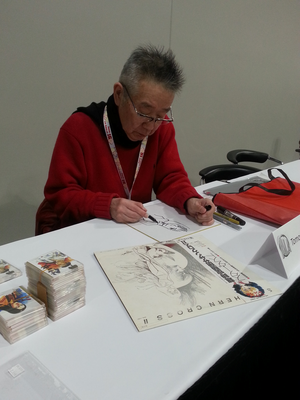 Tomonori Kogawa's panel (10) in  Animé Los Angeles 2020