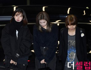Twice at the airport