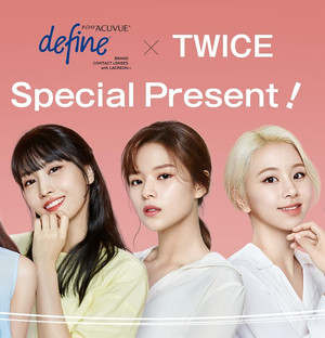 Twice for Acuvue