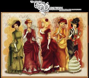 Victorian era डिज़्नी princesses