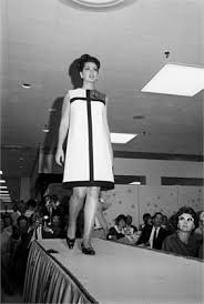 Vintage Color Block Dress