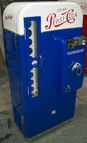 Vintage Pepsi Vending Machine