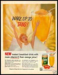 Vintage Promo Ad For Tang