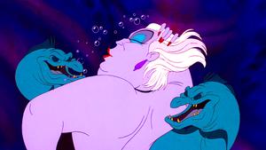 Walt Дисней Screencaps – Flotsam, Ursula & Jetsam