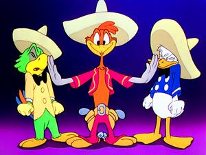 Walt ডিজনি Screencaps – José Carioca, Panchito Pistoles & Donald হাঁস
