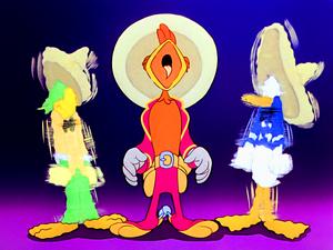 Walt Disney Screencaps – José Carioca, Panchito Pistoles & Donald canard