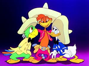 Walt Disney Screencaps – José Carioca, Panchito Pistoles & Donald itik