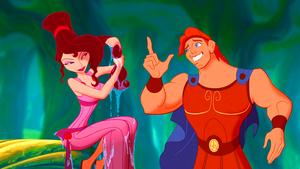 Walt ディズニー Screencaps - Megara & Hercules