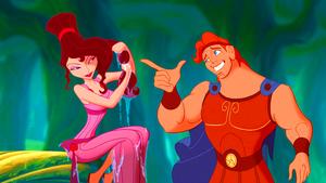 Walt Дисней Screencaps - Megara & Hercules